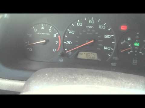 1999 Accord Ebrake Light Stuck On