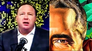 Alex Jones Obsesses Over Sperm On Barack Obama's Face