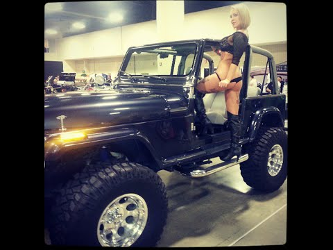 "Custom Jeeps For Sale >> Bad Ass Jeep YJ Wrangler, 8"" lift 36"" x 15.5"" Micky ..."