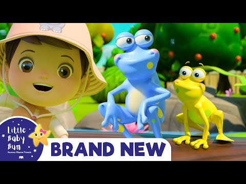 Cantec nou: 5 Little Speckled Frogs | BRAND NEW! | Baby Songs +Nursery Rhymes & Kids Songs | Little Baby Bum