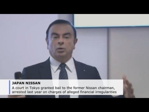 Tokyo court grants bail to former Nissan Carlos Ghosn