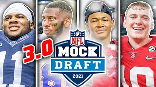 The OFFICIAL 2021 NFL First Round Mock Draft (3.0 Post Free Agency) || TPS