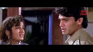 Sunil Shetty , Dilwale , WhatsApp Status Video , Very Emotional Sad Dialogues , Raveena Tondon