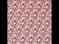 Jester Red Floral Combed Cotton Voile #308410