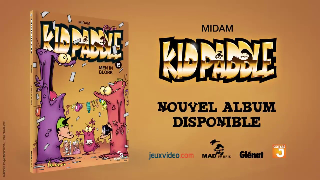 Kid Paddle Tome 15 Men In Blork