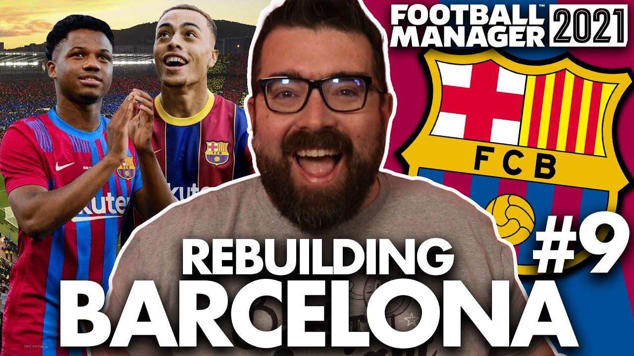 Download NEW SEASON, NEW BARCA | Part 9 | REBUILDING BARCELONA FM21 | Football Manager 2021