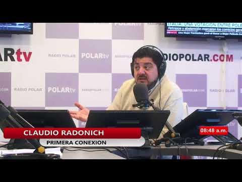 ENTREVISTA CLAUDIO RADONICH 05 MARZO