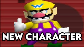 WARIO JOINS SMASH BROS 64 MOD - Smash Remix