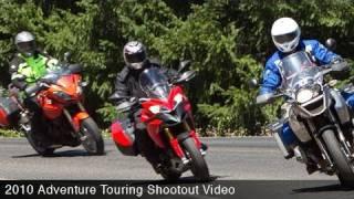 2010 Adventure Touring Shootout Video