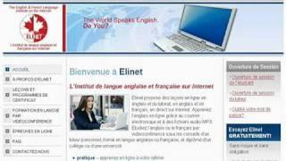 Apprendre l'anglais en ligne. Apprendre le français en ligne