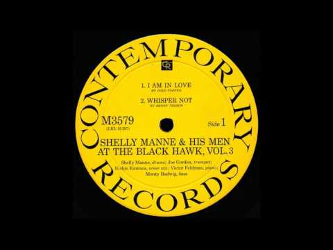 Shelly Manne & His Men At The Black Hawk Vol 3 Full LP 1960