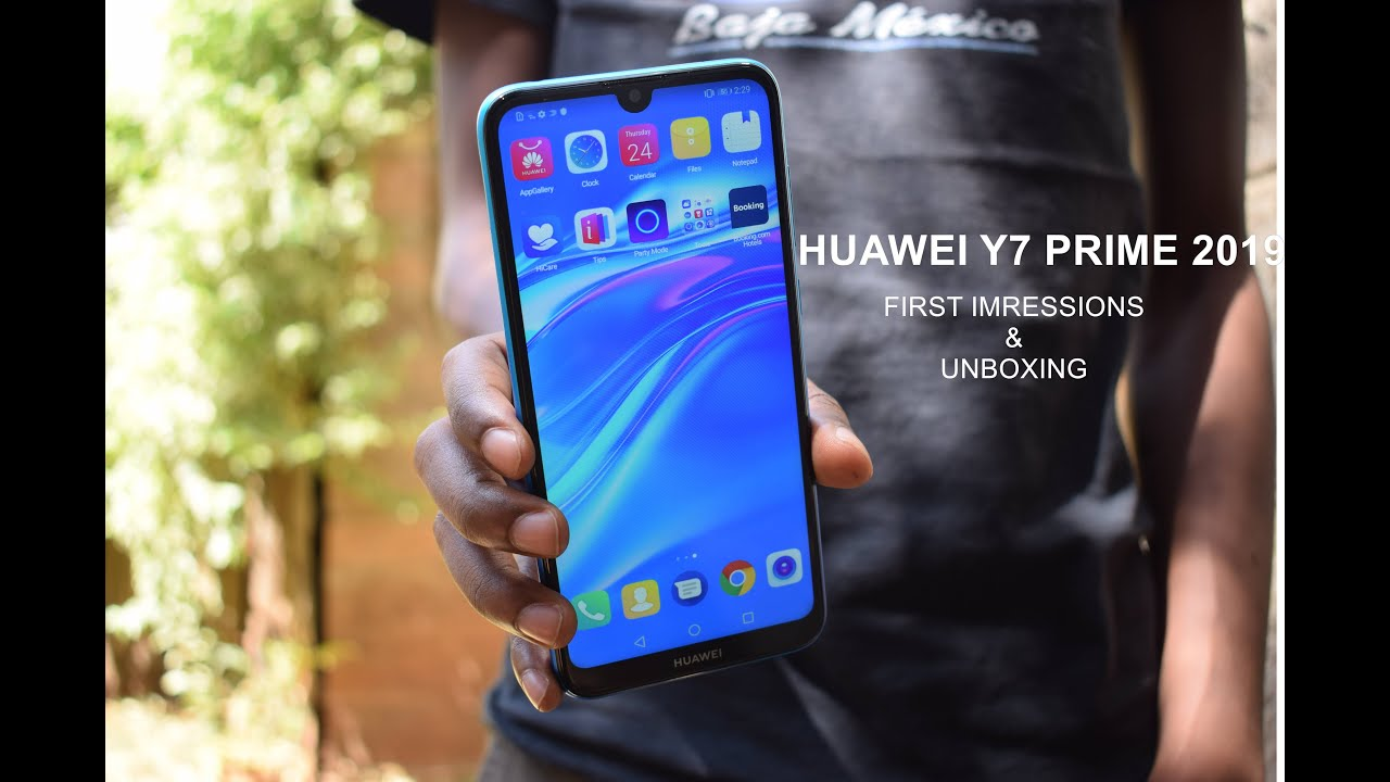 Huawei Y7 Prime 2019 Unboxing And First Impressions Youtube