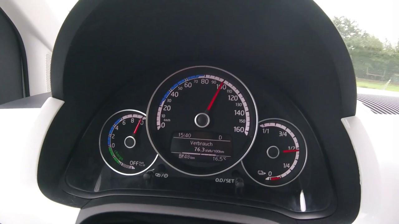 Volllast...Akku in Sekunden leer | VW e-up! 2017 | 0-130 km/h | 82 ...
