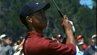 Tiger Woods US Open 2000 Final Round part 4/6