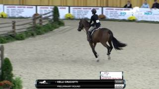 Kelli Cruciotti Preliminary Round of the 2015 Pessoa/US Hunter Seat Equitation Medal Finals