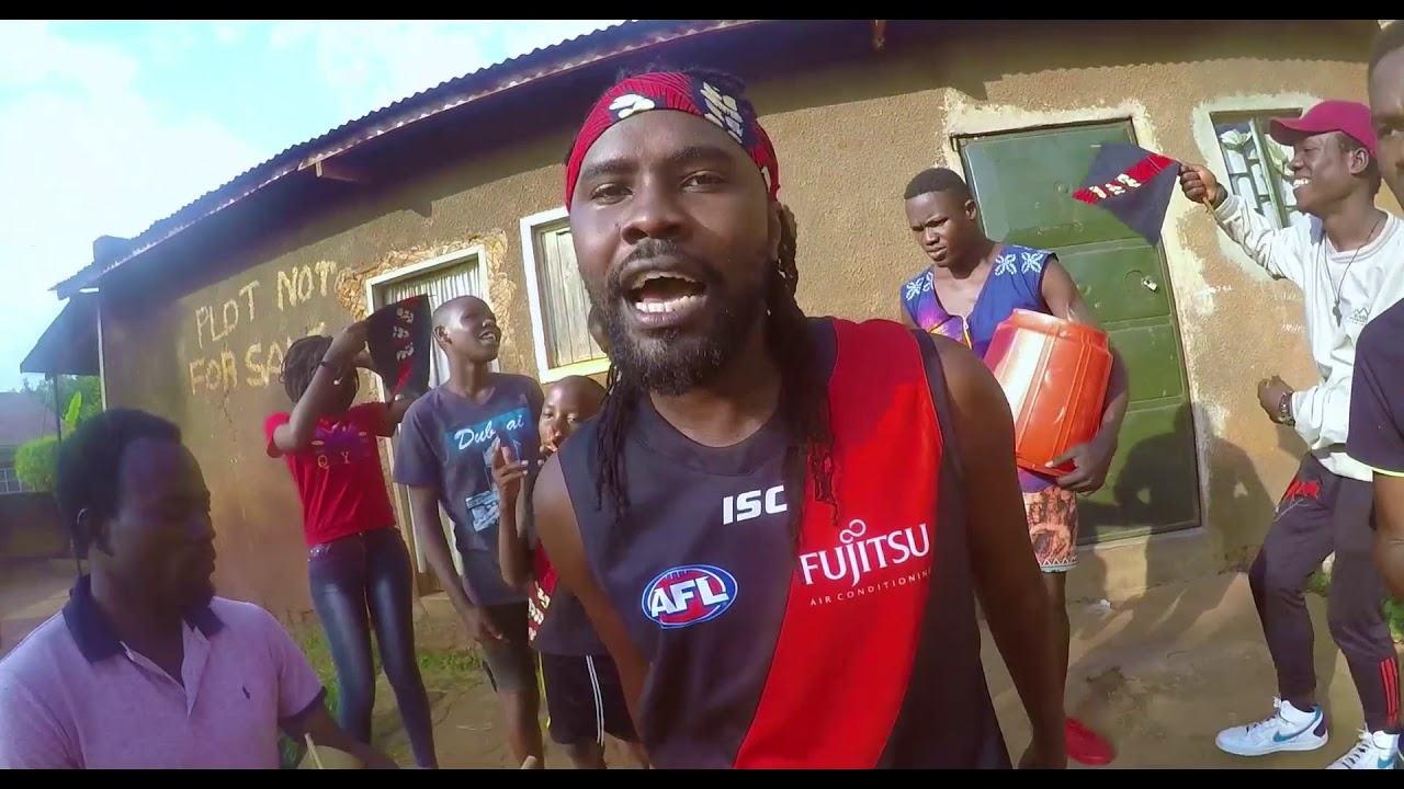 Ugandan gospel rapper remixes Essendon theme song   Odds