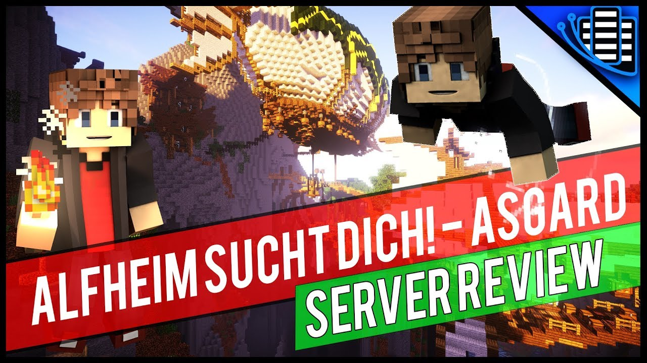 ALFHEIM SUCHT DICH MINECRAFT RPG SERVER RPG Roleplay Minecraft - Minecraft rpg server erstellen