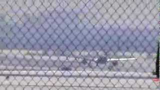 Air Canada A320 Take Off At At Toronto Pearson Airport 03/07/2014