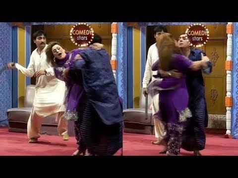 Zafri Khan New Stage Drama Comedy Clip 2019 - Zafri Tik Tok Full Comedy Clip 2019