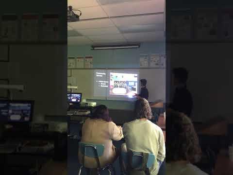 Alex Nelson 2018 Senior Presentations