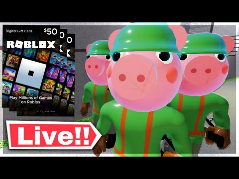 ROBLOX PIGGY ROBUX TOURNAMENT! (Robux Codes) | Roblox Piggy 2 Hype