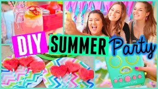 DIY Summer Party! Treats, Snacks, & Decor! | Primrosemakeup