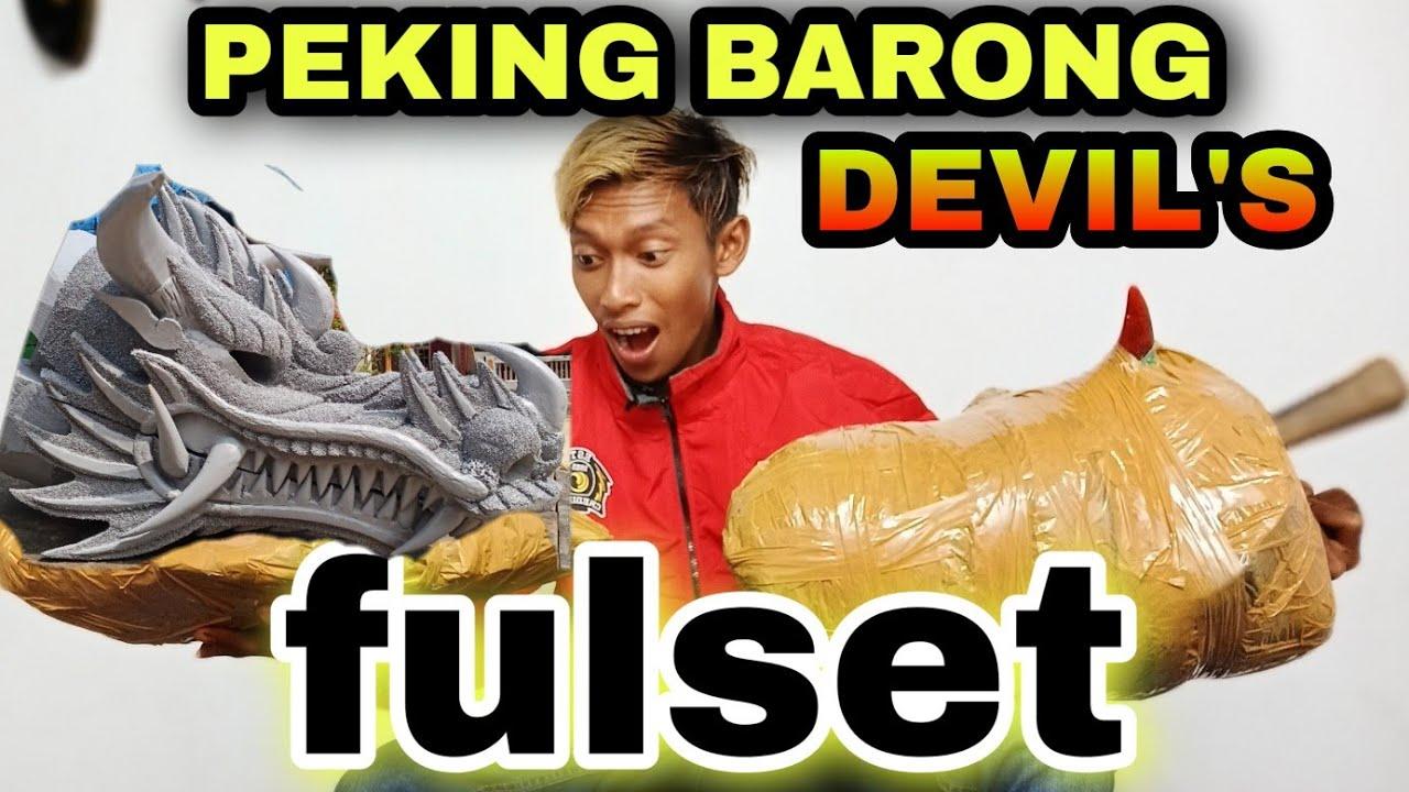 PEKING BARONG DEVILS OREN FULSET