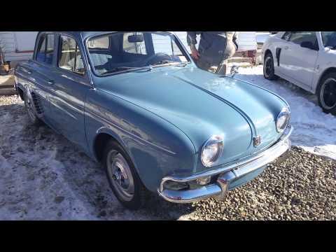 1960 Renault Dauphine outdoor showing