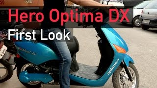 Hero Optima DX: A quick look at India's first Lithium-ion battery powered bike| Digit.in
