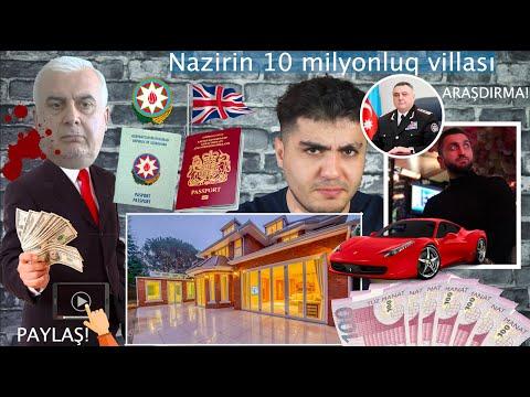 PAYLAŞ! Nazirin Londonda olan 10 milyonluq villası. Xalqın qanını içənlər necə yaşayır?