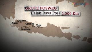Sejarah Jalur Pos Anyer - Panarukan