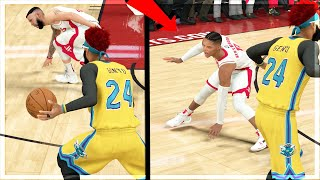 INSANE Dribble GAWD COMBOS! TRIPLE ANKLE BREAKER!! NEW BADGE UPGRADES! NBA 2k20 MyCAREER Ep.99