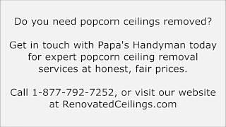 Popcorn Ceiling Removal Roseville, CA - Popcorn Ceiling Roseville CA