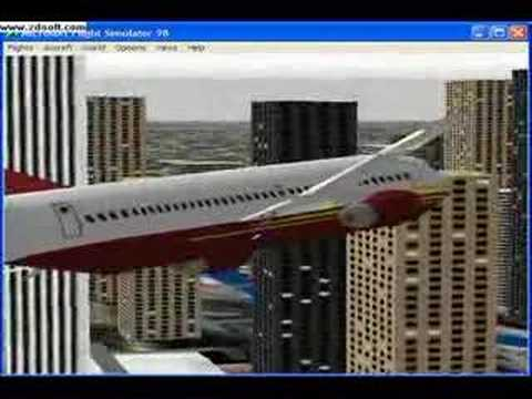 Flight simulator 98 download planes