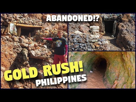 Exploring ABANDONED GOLD MINES In The PHILIPPINES (Do NOT Do This!)