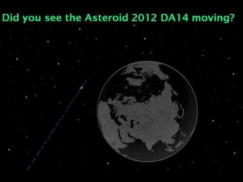 Asteroid 2012 DA14 Chelyabinsk, Russia , February 15th 2013