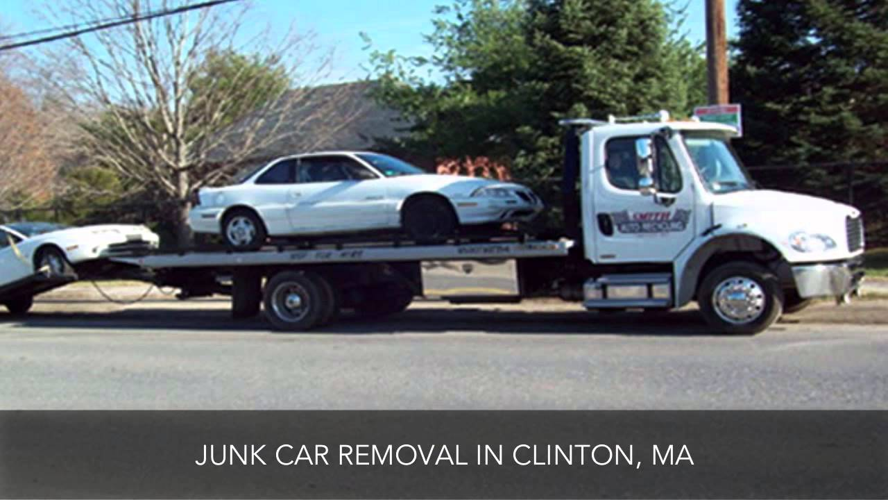 Smith Auto Recycling LLC Junk Car Removal Clinton MA - YouTube