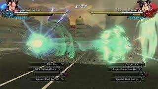 DragonBall Xenoverse 2 - When attacks clash (amazing collisions) #2 | Beam Struggles