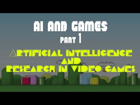 Artificial Intelligence Research in Games [AI & Games Lecture #1]