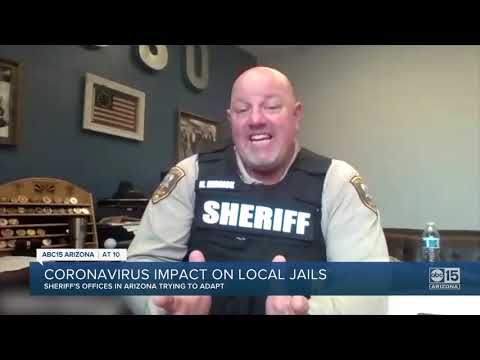 Sheriff's offices prepare for coronavirus impact on local jails