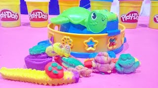 Play Doh Plus Twist 'N Squish Turtle Fun Factory Playset New PlayDough 2015 From Hasbro Toys