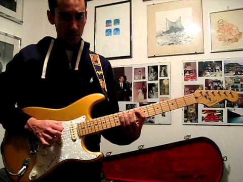 Fender Standard Stratocaster With Vintage Noiseless Pickup Mod >> Amazing Grace - Jeff Beck Style | Doovi