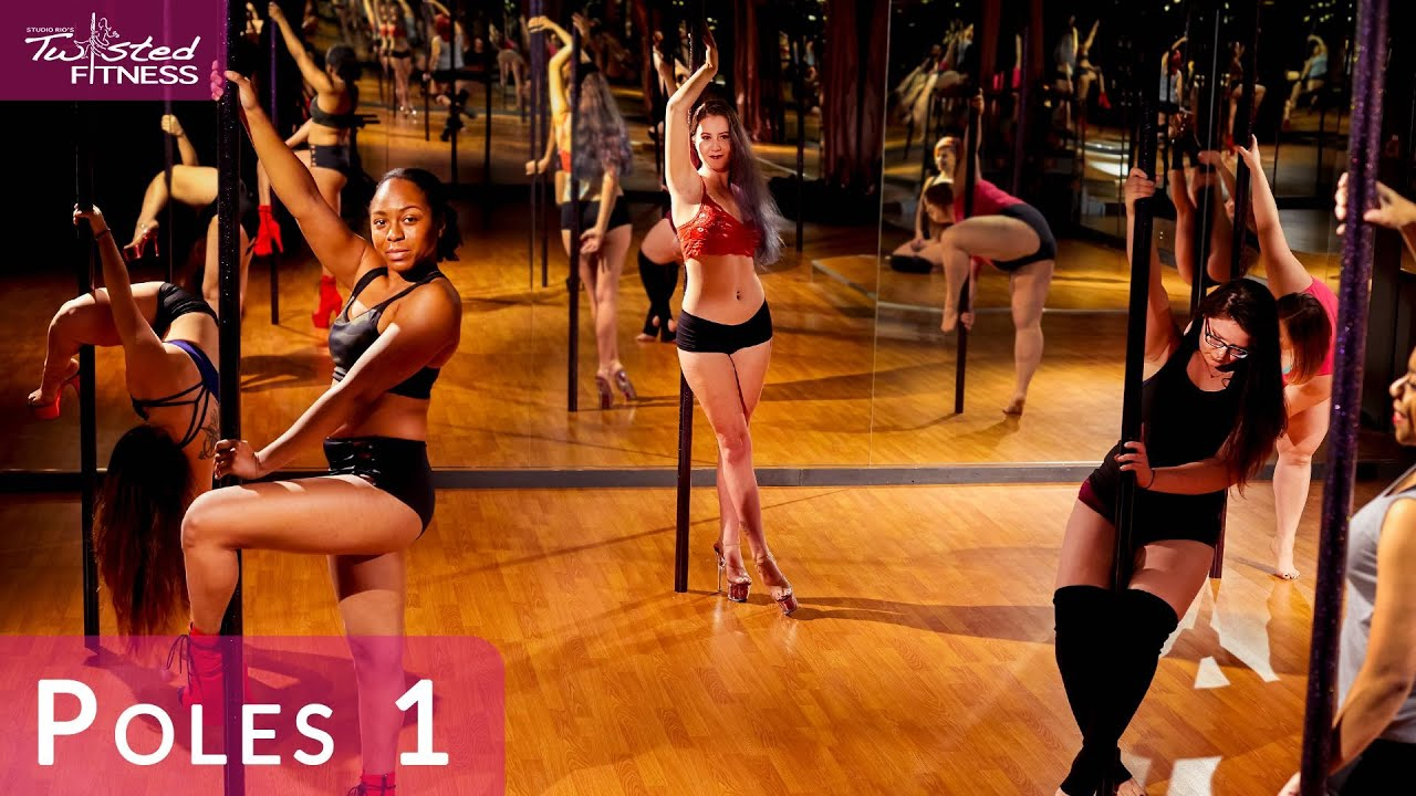 Poles 1: Pole Dance Class for Beginners at Studio Rio's ...