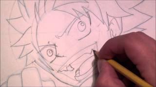 Draw Something (This Week; Natsu Dragneel)