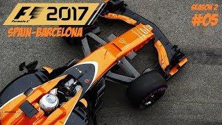 F1 2017 // S02R05: SPAIN-BARCELONA // MCLAREN HONDA KARRIER