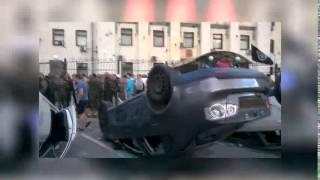 Митинг у посольства РФ в Киеве...
