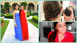 Get ready for prom with me + pictures! Thumbnail