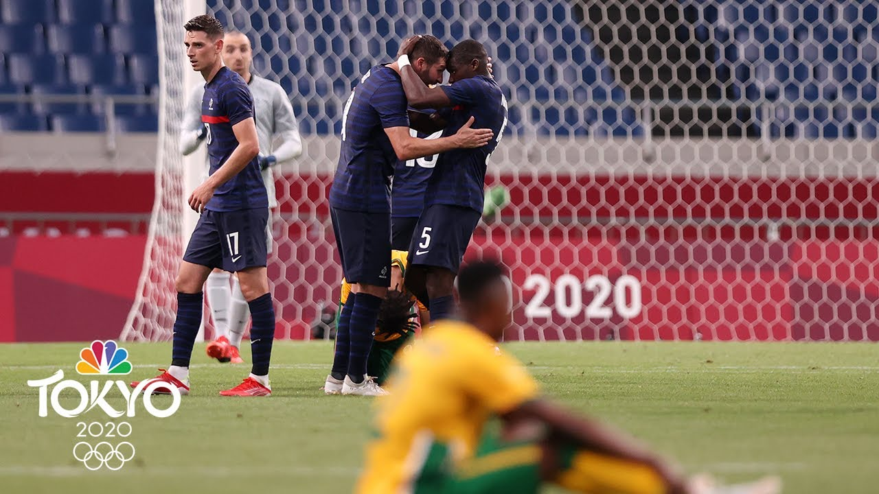 Download France vs. South Africa | Tokyo Olympics 2020: Men's Soccer Highlights | NBC Sports