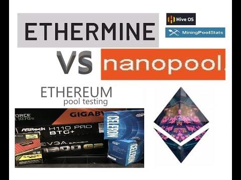 ETHERMINE VS NANOPOOL (ETH) 2020