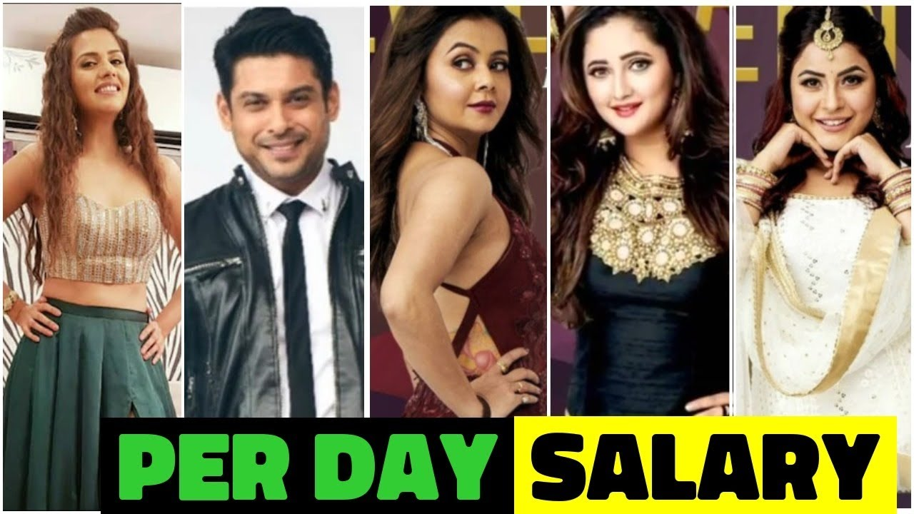 Per Day Salary Of Bigg Boss 13 Contestants You Won T Believe Salman Khan